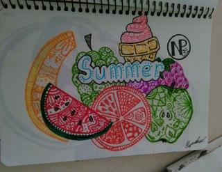 Мои новые рисунки есть срисовки