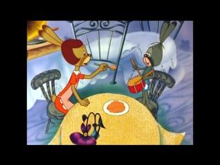 Зайчонок и муха.  Мультфильм  (1977г.)