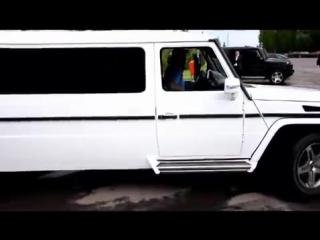 VIP кортежи в Астане на Мерседесах G55 AMG. www.luxcar.kz - Mp4 - 720p