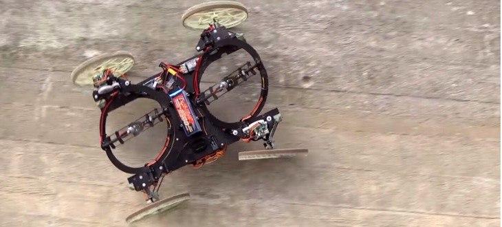 Робот, который может ездить по стенам