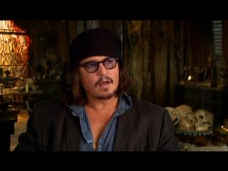Пираты Карибского моря На странных берегах/Pirates of the Caribbean: On Stranger Tides (2011) Интервью с Джонни Деппом