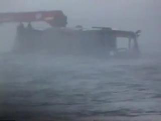 Как Камаз под воду ушёл