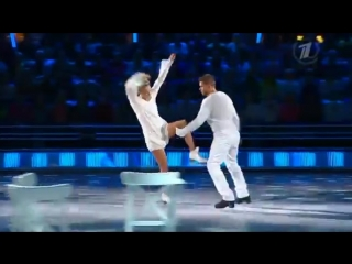Оксана Домнина и Владимир Яглыч - Шоу Ледниковый период 2013. 7-й выпуск