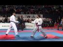 Rafael Aghaev (Azerbaijan) - Luigi Busa (İtaly). İstanbul 50th European Karate Championships