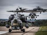 Российский ударный вертолет Ми-28Н
