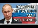 Polen ist mit schuld am 2. Weltkrieg – Wladimir Putin