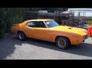 1970 Pontiac GTO judge (Start up Test drive)