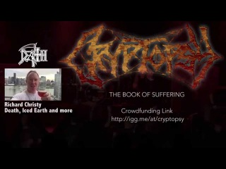 Cryptopsy The Book of Suffering: Unite & Support