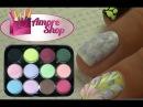 Бархатный песок ❤ Бархатный эффект с помощью цветных акрилов Kodi ❤ Мастер класс от AmoreShop