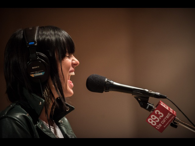 Phantogram Black Out Days Live on 89 3 The Current