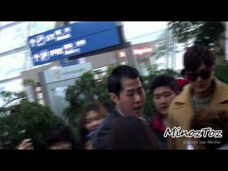 [직캠] 20150126 Incheon Airport Lee Minho 홍콩출국 by, MinozToz