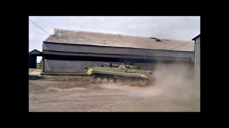 Форсаж Танкистский дрифт Подборка дрифта на танках бтр и бмп 2015