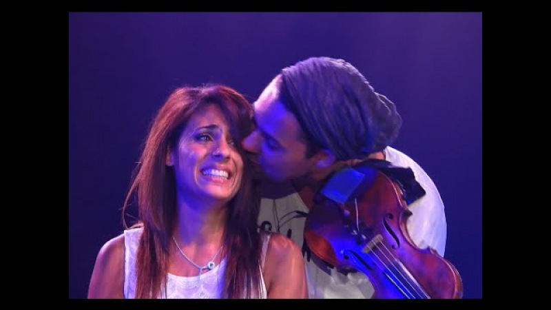 David Garrett mit seiner Band 'Your song'