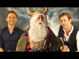 Tom Hiddleston, Chris Hemsworth, Natalie Portman in THOR &amp Loki vs Uncle Vili Daniele Rizzo