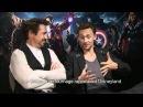 Interview exclu de Robert Downey et Tom Hiddleston Avengers Orange
