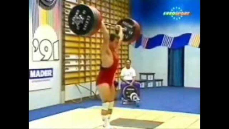 Ибрагим Самадов первый чеченский чемпион мира по тяжелой атлетике