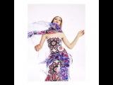 "Dewey Nicks on Instagram: ""@kristina_bazan making #Chanel dance. @PaperMagazine #KristinaBazan"""