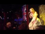 Valentina Monetta sings her new song