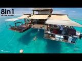 Плавающий бар в Тихом океане  Cloud 9: The floating bar in the middle of the Pacific