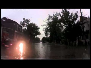 Кизляр во время дождя