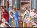 Библейский сюжет Император Константин и царица Елена