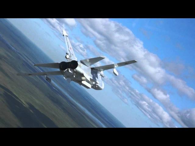 Су-24мр полет парой (г.Мончегорск, Мурманская область)