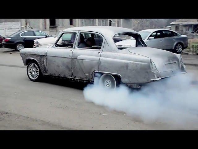 დრიფტი - გაზ21 BMW-ს ძრავზე (აწყობილია საქართველ4