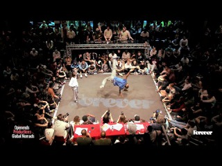 Semi Finals ALESYA Vs. KYLE CLARK House Dance Forever Feb. 2015