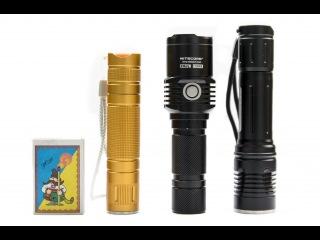 1 ч. Светодиодный фонарь EDC на диоде XM-L2 фирмы Convoy на каждый день (подарок любимому)