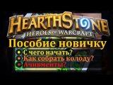 Hearthstone: пособие новичку. Что делать? С чего начать?