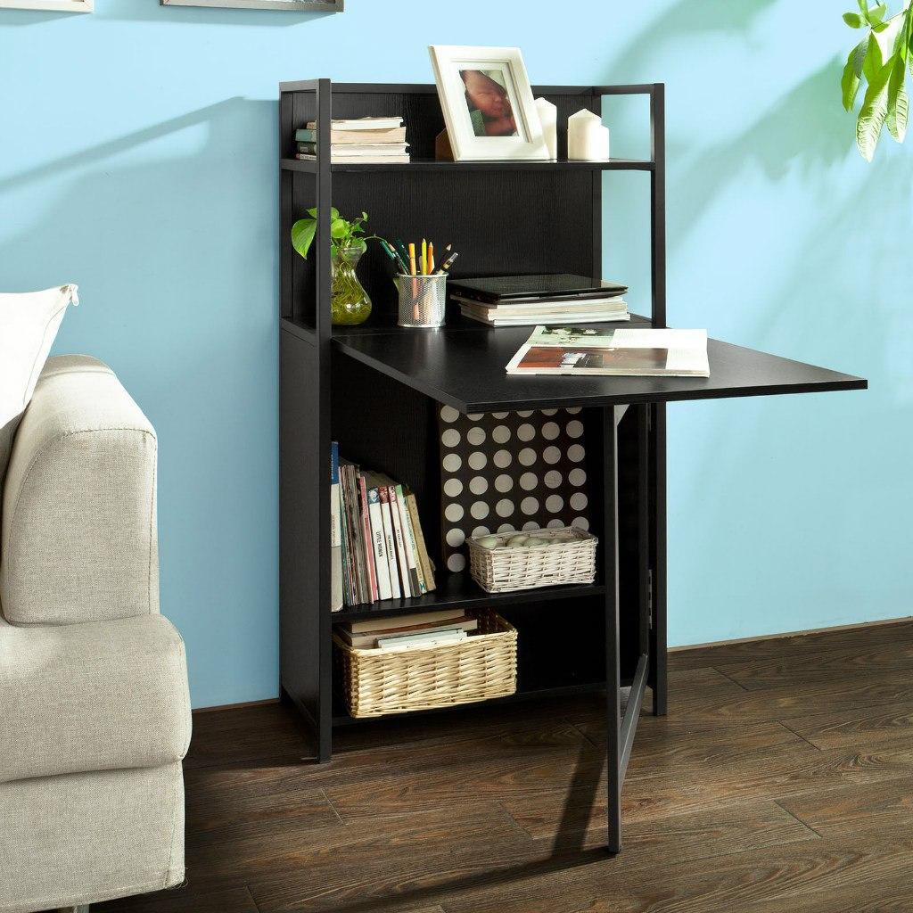 Mesa escritorio biblioteca armario almac n para for Mesas para espacios reducidos