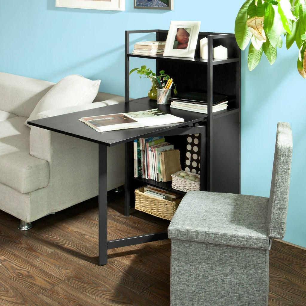 Mesa escritorio biblioteca armario almac n para for Escritorios para espacios pequenos