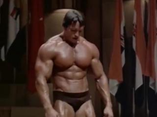 Арнольд шварценеггер (arnold schwarzenegger) тренировка. бодибилдинг, мотивация, пауэрлифтинг, качалка, тренировки, трени, трени