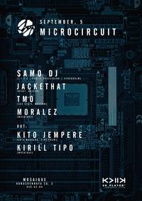 05.09: MICROCIRCUIT w/ SAMO DJ (SWE). MOSAIQUE