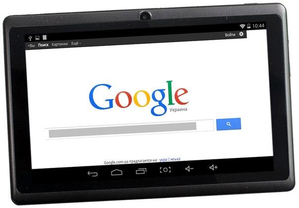 интернет планшет 7 дюймов на подарок школьнику ребенку