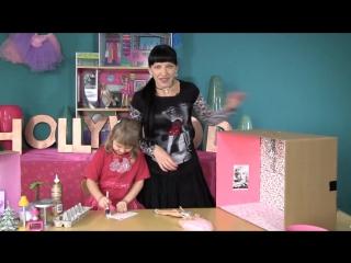 Барби Игры - Кукольный Домик Своими Руками С Мамой