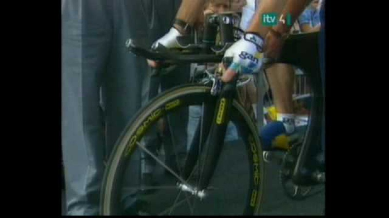 Tour de France-Chris Boardman 1994 Fastest Ever Time Trial!!