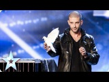 Darcy Oake's jaw-dropping dove illusions Britain's Got Talent 2014