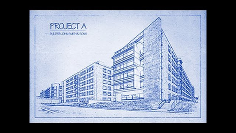 Photoshop Tutorial How to Transform a Photo into an Architects BLUEPRINT Drawing.