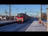 Электровоз ЭП1М-782 с поездом №112М Москва - Казань/Круглое Поле