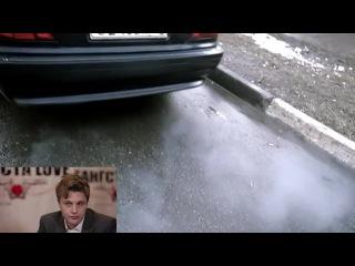 Видеосалон- Майкл Питт смотрит русские криминальные фильмы
