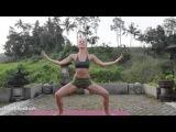 Йога для начинающих Приветствие Луне Вечерний комплекс Йога Здоровья