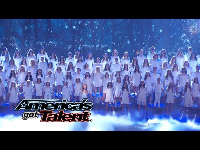 One Voice Children's Choir: Choir Covers Let It Go from Frozen - America's Got Talent 2014