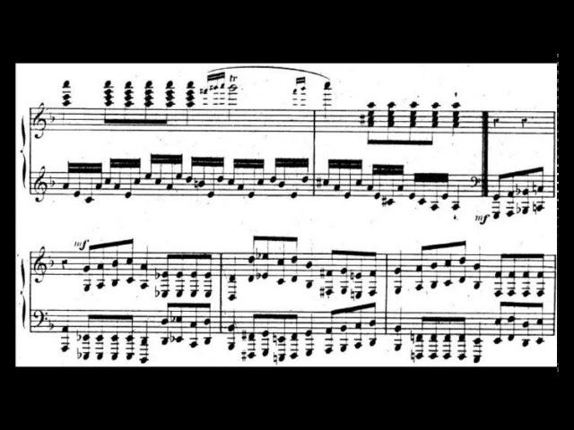 Charles-Valentin Alkan - Etude Op. 39 No. 2 En rythme molossique (GSARCI BIRTHDAY PRESENT)