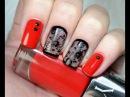 Прозрачный Дизайн ногтей колготки, капрон, вуаль | Sheer Polish Nail Art