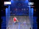 2014 Commonwealth Games Squash Final-Nicol David vs L. Massaro set 2