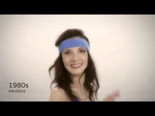 Девочки для вас: 100 лет эволюции милого девичьего фитнеса всего за 2 минуты
