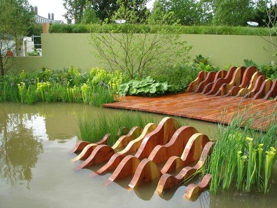 Водные сооружения в ландшафтном дизайне