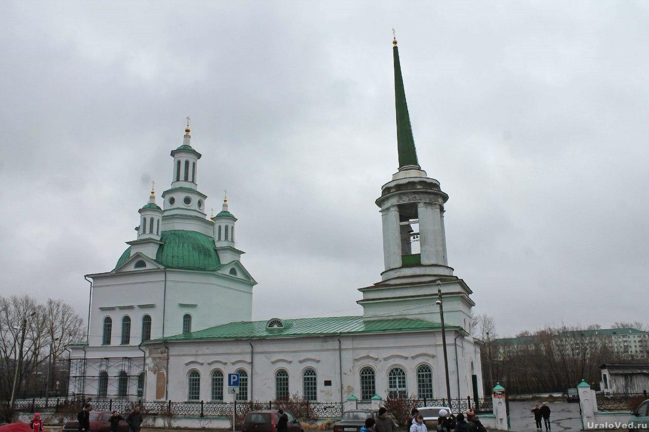 Свято-Троицкий храм Алапаевска