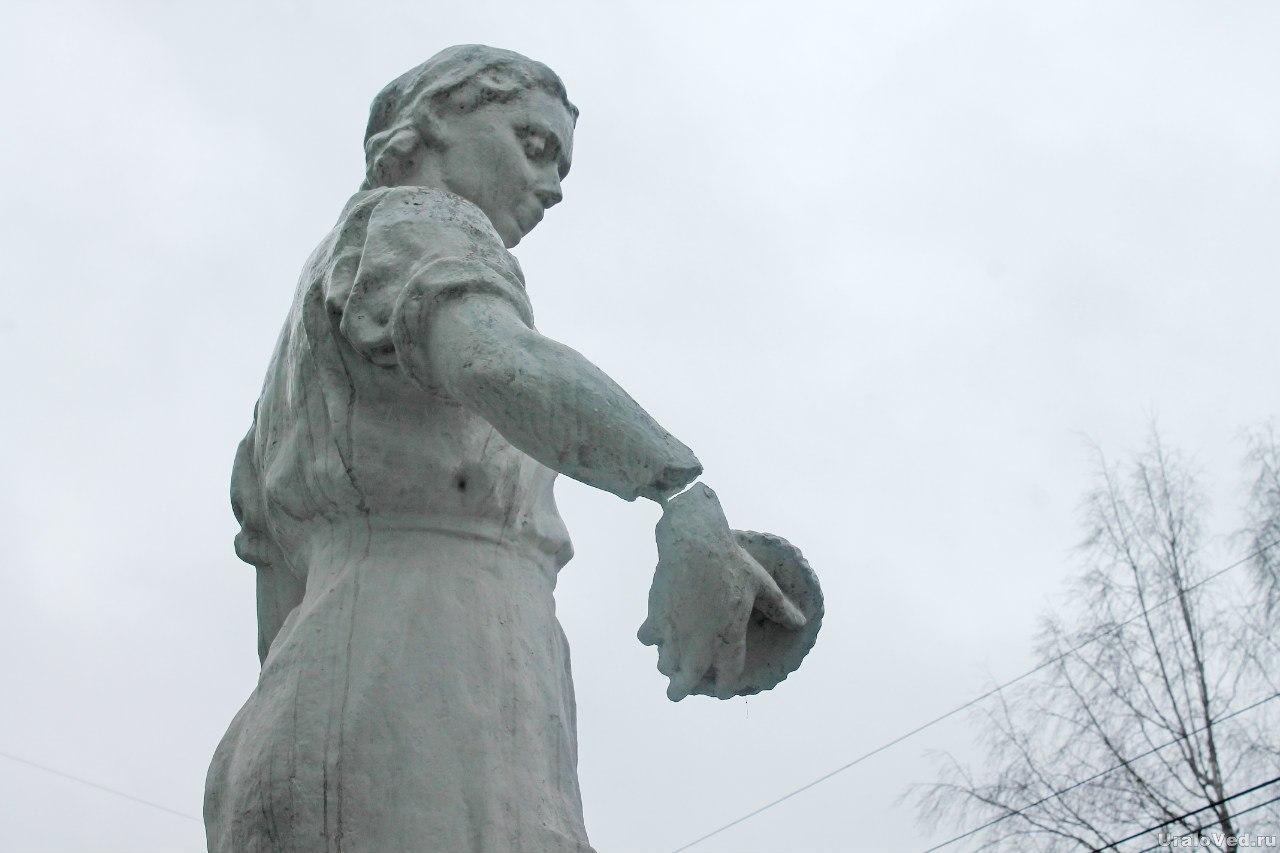 Скульптура в Алапаевске